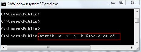 CMD step 3