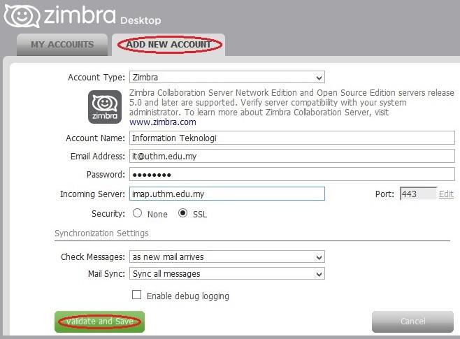 ZimbraDesktop4